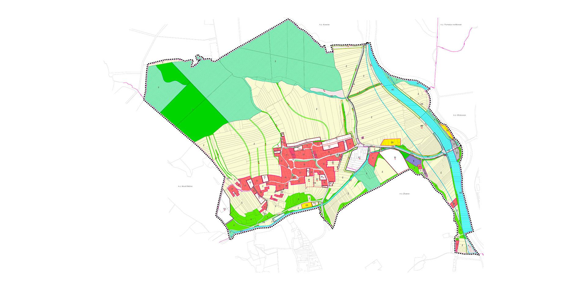 Návrh nového územního plánu