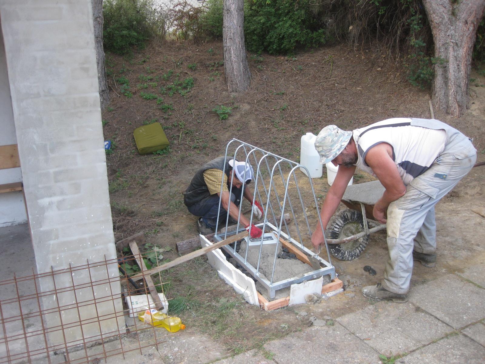 Práce v obci