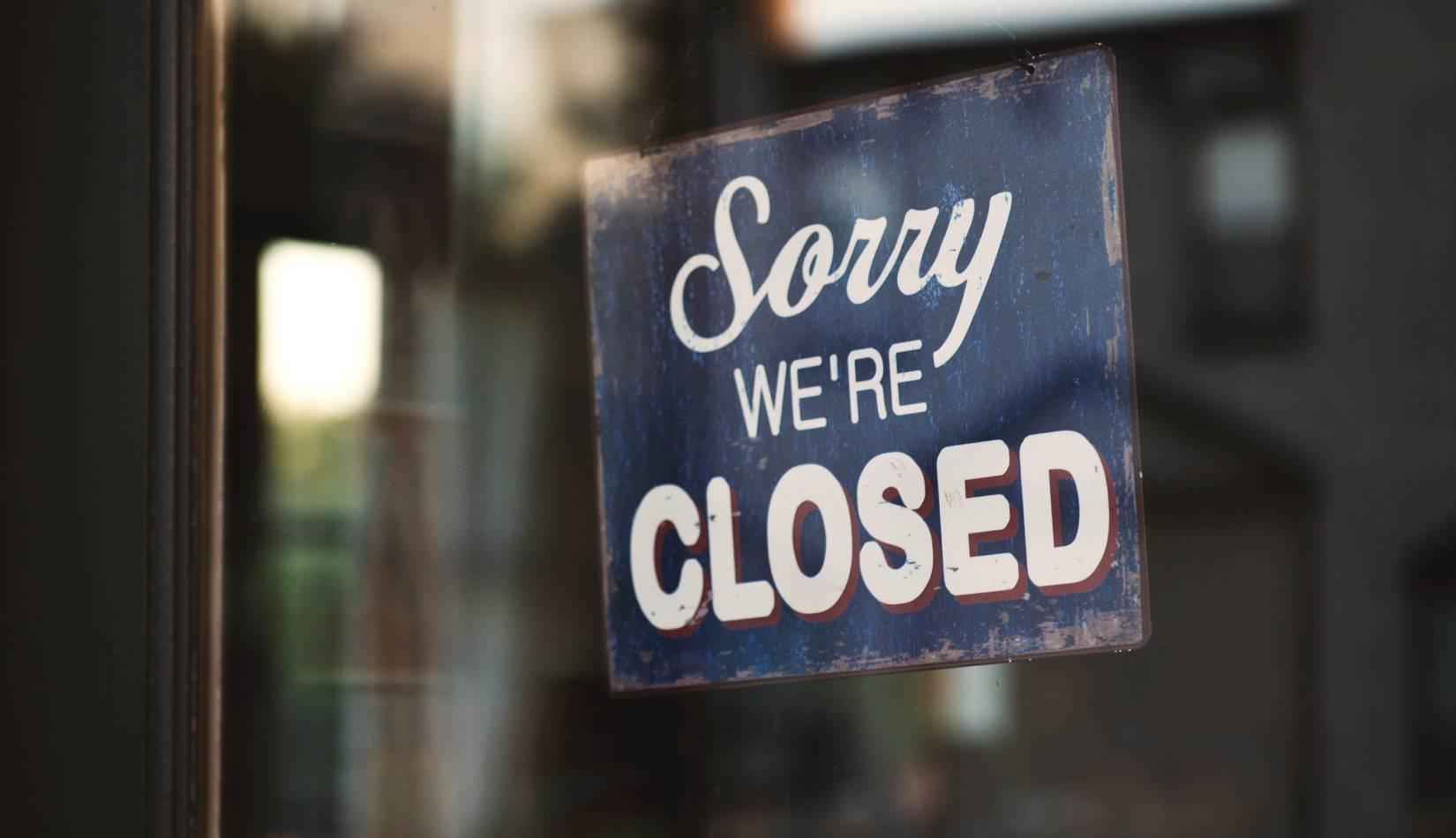 Dočasné uzavření knihovny