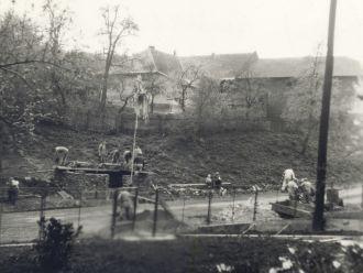 Stavba čekárny