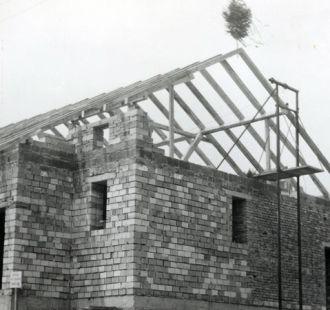 Stavba obecního obchodu