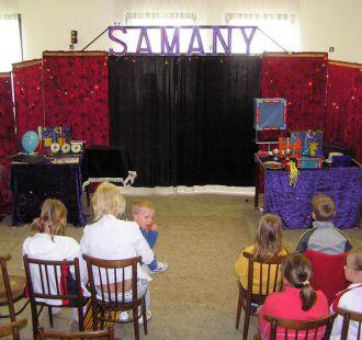 Kouzelník Samany