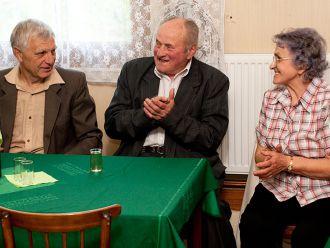 Beseda s důchodci