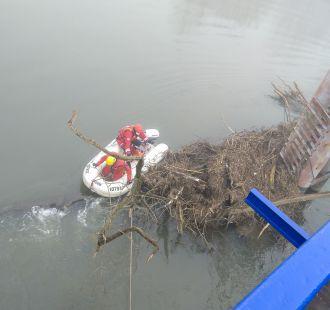Práce na moravní lávce