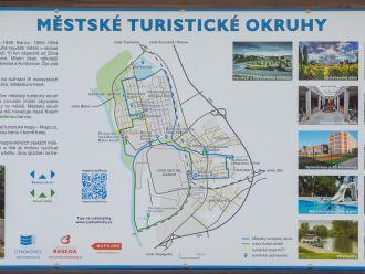 Městské turistické okruhy vás provedou Otrokovicemi