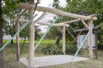 Nový dřevěný přístřešek