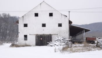 Zima, Bělov a okolí