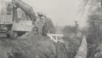 Stavba kanalizace