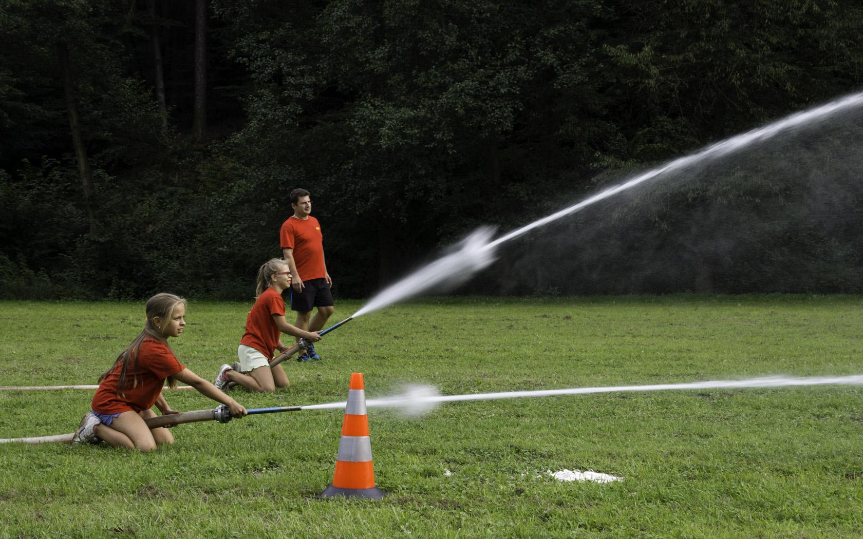 Dětské hasičské odpoledne