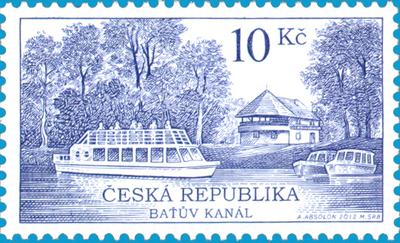 Slavnostní křest poštovní známky
