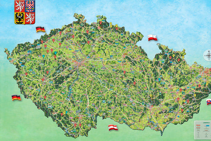 Malované mapy