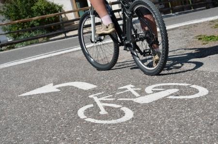 Počet cyklistů a pěších na cyklostezce
