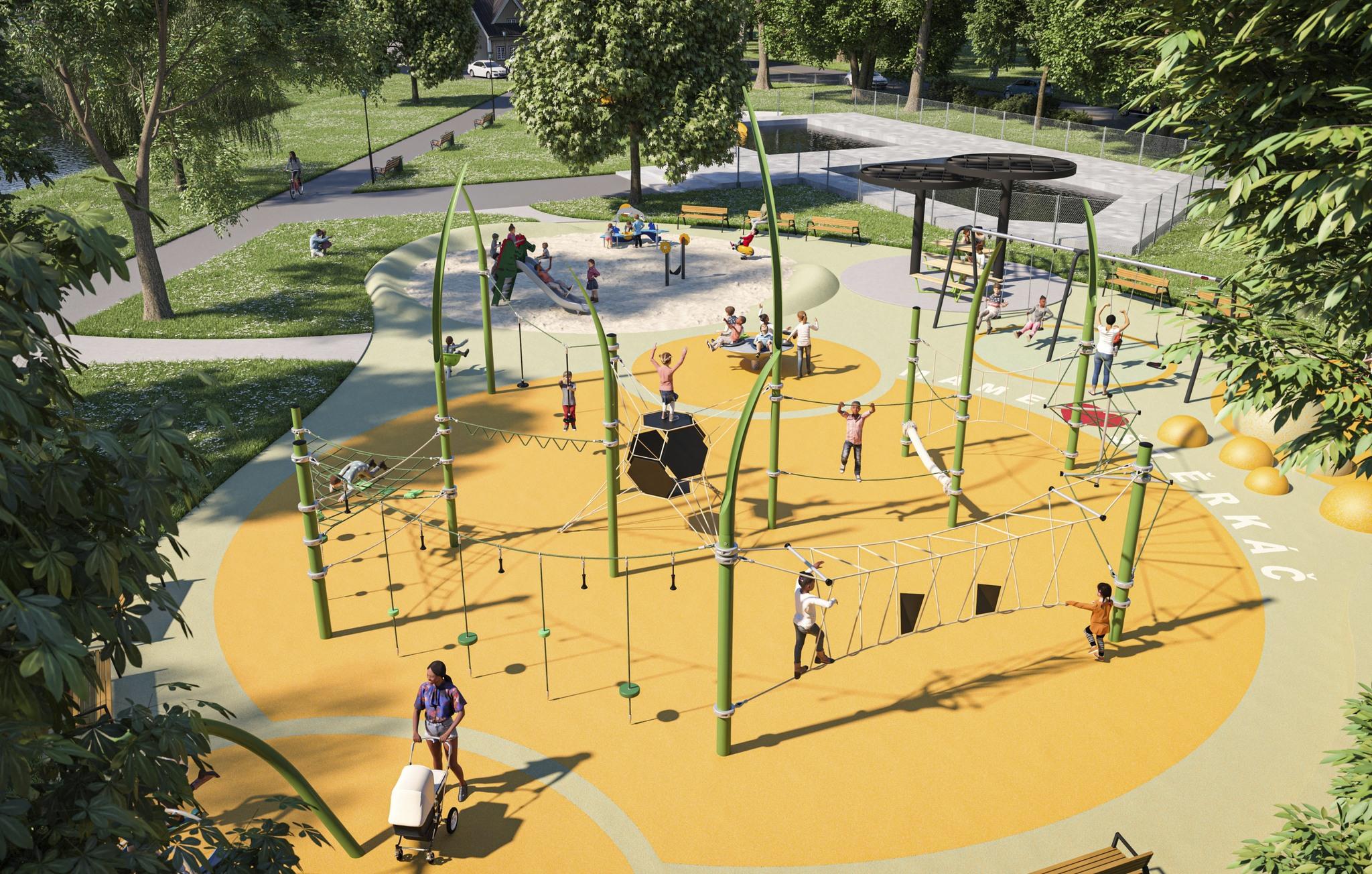 Otrokovičtí radní schválili návrh revitalizace Rekreační oblasti Štěrkoviště