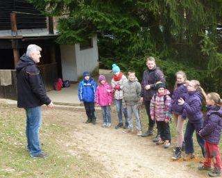 Výprava na Staré Hutě 2016.
